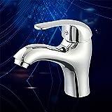 TYAW-SHOP Einen Wasseranschluß Sanitär Einloch Waschbecken Mischen von Heißem und kaltem Wasser Waschbecken, Badewanne