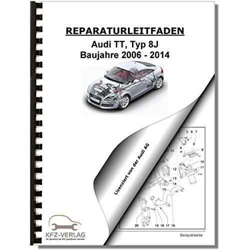 Audi TT, Typ 8J (06-14) Fahrwerk Achsen Lenkung 2WD 4WD AWD - Reparaturanleitung