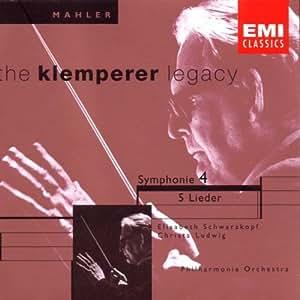 Mahler : Symphonie n° 4 - 5 Lieder