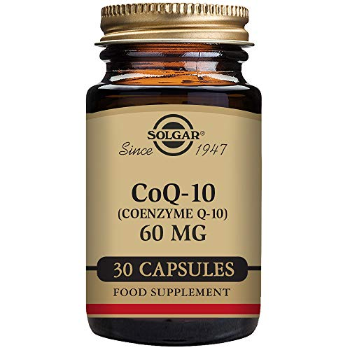 Solgar CoQ-10 (Coenzyme Q-10) 60 mg Vegetable capsules - 30 container