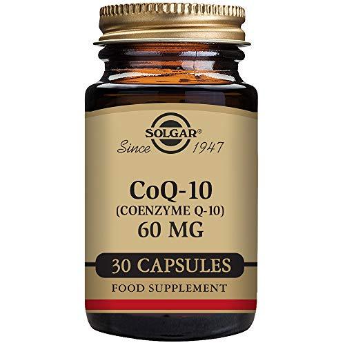 Solgar CoQ-10 (Coenzima Q-10) 60 mg Cápsulas vegetales - Envase de 30