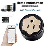 WiFi Smart Steckdose Telefon App Steuerung Timing Switch US Stecker Wireless Remote Home Automation kompatibel mit Alexa Echo Google Home