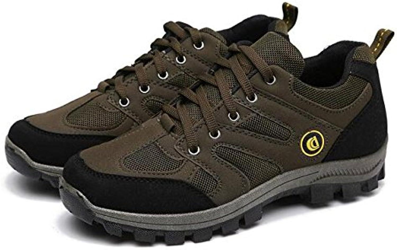 Malla De Los Hombres Zapatos De Senderismo Ligero Impermeable Transpirable Al Aire Libre De Encaje hasta Caminar...