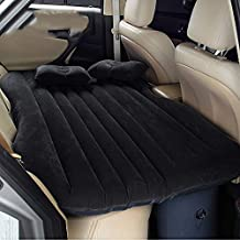 Colchón Inflable Coche SUV Multifuncional Plegable Cama Inflable para Asiento Trasero de Coche con Bomba de