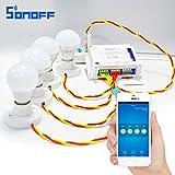 Sonoff WiFi Smart 4CH Wireless Switch Work With Amazon Alexa,Google Home,Nest