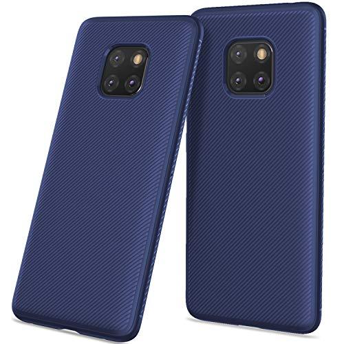 Geemee para huawei mate xnumx pro capa, slim e capa protetora de silicone macio tpu, anti-risco, choque-absorção de volta cobrir para huawei mate xnumx pro (azul)
