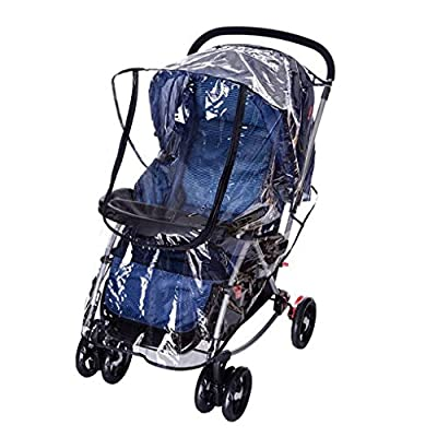Universal Baby Kinderwagen Regenschutz Buggy Kinderwagen Kinderwagen transparent regen Abdeckung wasserfest Regenschirm Buggy Wind Staub Shield Cover für Kinderwagen