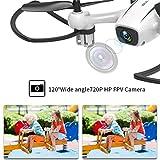 WINGLESCOUT Drone avec caméra, Avion de contrôle à Distance avec caméra 720P HD...
