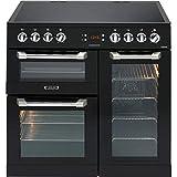 Best Electric Ranges - LEISURE CS90C530K Cuisinemaster Black 90cm Electric Range Cooker Review