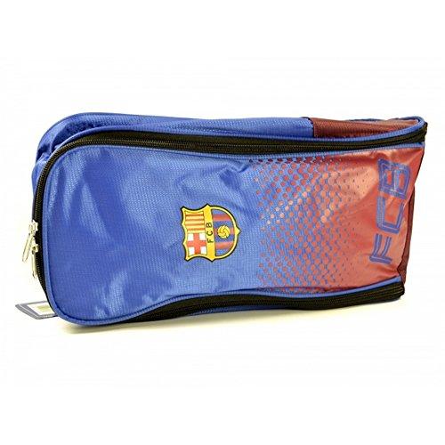 FC Barcelona Official Football Fade Design Bootbag Blu/Rosso