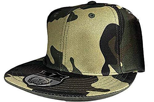 KB Ethos Tout Neuf Casquette Réglable Camouflage Visière Plate Toutes Les Tailles Compatible avec Baseball Urban Hip casquette