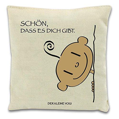 YOGI Duftkissen - Schön, dass es dich gibt: Baumwoll-Kissen - Kräuter-deo-kräuter-duft