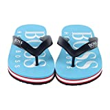 Hugo Boss Boys J29148-75G Thong Sandals Blue Size: 6