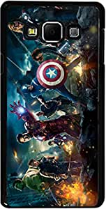 Dot Print Back Cover For Samsung Galaxy A7 Avengers Assemble Printed Case