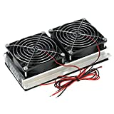 KKmoon DIY Refrigeration Semiconductor Kit 12V Acqua Raffreddata ad Acqua Condizionatore Elettronico Raffreddatore CPU Testa Acqua
