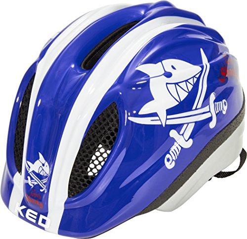 KED Meggy II Originals Helmet Kids Sharky Blue Kopfumfang M | 52-58cm 2018 Fahrradhelm