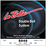 Labella LS946 Jeu de Cordes à double boule pour Guitare Electrique 9/46 Light