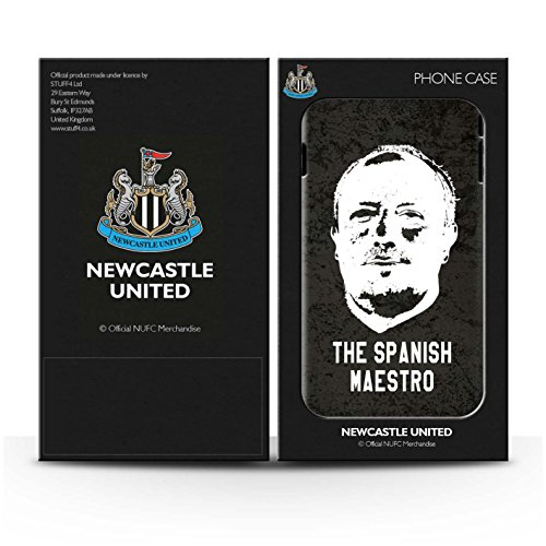 Offiziell Newcastle United FC Hülle / Glanz Snap-On Case für Apple iPhone 6+/Plus 5.5 / Pack 8pcs Muster / NUFC Rafa Benítez Kollektion Spanisch Maestro
