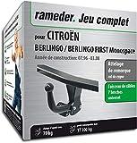 Rameder Attelage démontable avec Outil pour CITROËN BERLINGO/BERLINGO First Monospace + Faisceau 7 Broches (128834-01567-4-FR)