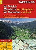 KOKA115 Kombinierte Wanderkarte Münstertal und Umgebung - GPS kompatibel - Maßstab 1:25.000 (Kombinierte Sommer-Wanderkarten Südtirol)...
