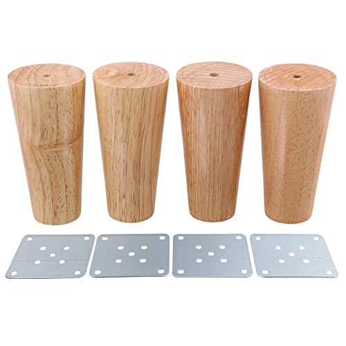 BQLZR 58x60x38mm Wooden Material Sofa Chair Bed Cupboard Tea Table TV Cabinet Furniture Legs Feet Pack Of 4 Amazoncouk DIY Tools