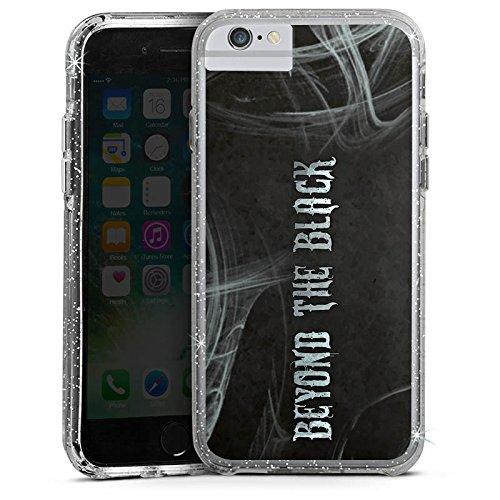 Apple iPhone 6 Bumper Hülle Bumper Case Glitzer Hülle Beyond The Black Fanartikel Merchandise Bumper Case Glitzer silber