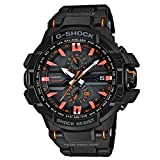 Casio Unisex Analogue Watch with Black Dial Analog - Digital Display - GW-A1000FC-1A4ER