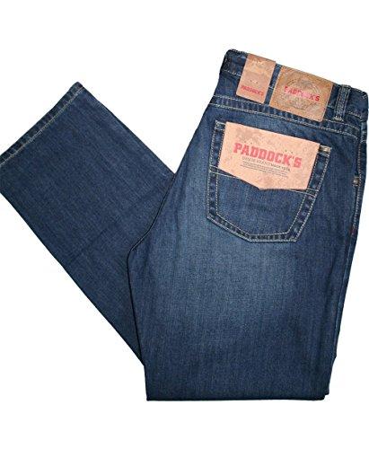 Paddocks Jeans Hose Carter 80016-5166-5915, medium blue stone soft moustage used medium blue stone soft moustage used