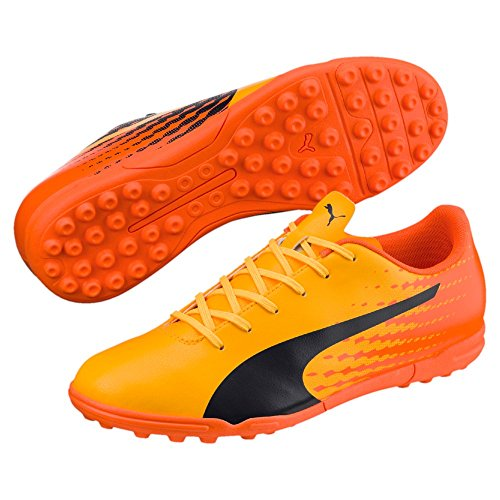 Puma Herren Fussballschuhe evoSPEED 17.5 TT 104026 Ultra Yellow-Peacoat-Orange CL 46.5