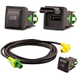 USB Einbau Block Schalter Adapter Set RCD RNS Radio´s RNS RCD 300 310 315 510