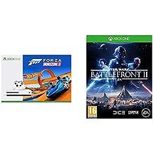 Xbox One S - Consola 500 GB + Forza Horizon 3 + Hot Wheels + Star Wars: Battlefront II - Edición estándar