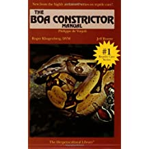 Boa Constrictor Manual (Herpetocultural Library)