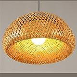 Joeyhome Travail du bambou moderne lampe de table en bambou tricoté main bon prix...