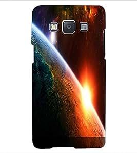ColourCraft The Galaxy Design Back Case Cover for SAMSUNG GALAXY E5