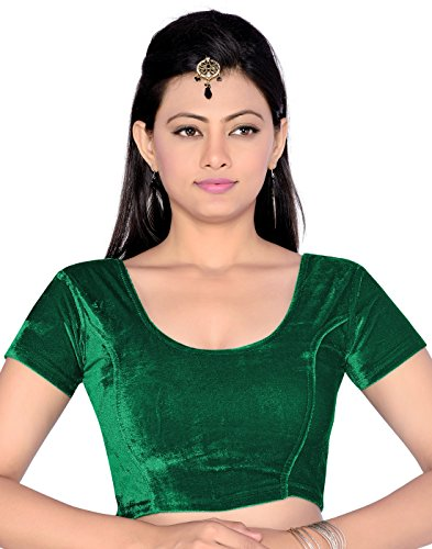 Studio Shringaar Stretchable Velvet Blouse (Size - 42)