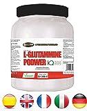 Glutammina in Polvere | gr 500 | L-Glutammina - Integratore Alimentare a Base di Pure L-Glutammine Kyowa QualityTM | Promuove la Crescita Muscolare | Favorisce il Recupero Muscolare