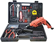 Cheston Powerful 13 mm Impact Drill Machine Cum Screwdriver Kit with 101 Pieces Tool Accessories
