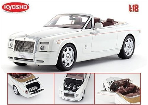 rolls-royce-phantom-drophead-coupe-english-white-1-18-by-kyosho-08871-by-kyosho