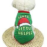 MCYs Weihnachten Hunde Warm Hoodies Mantel Kleidung Pullover Haustier Welpen Hundejacke Wintermantel