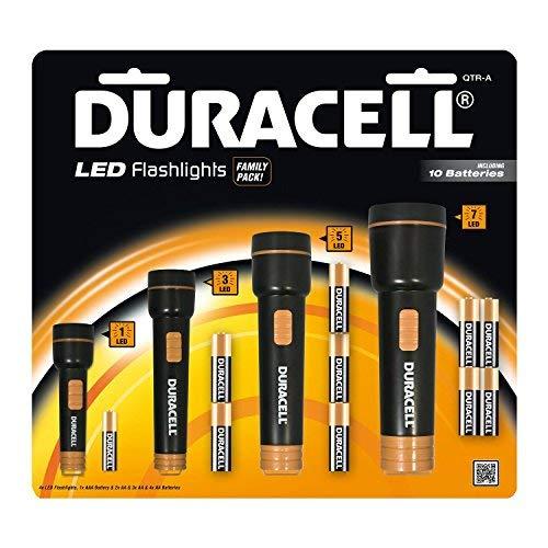 Taschenlampen Hat LED Duracell (Family Pack x 4) Taschenlampen