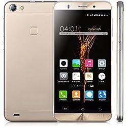 """WOGIZ - Smartphone sbloccato Dual SIM originale, con processore MTK6580 quad core, 8 GB di memoria ROM e 1 GB di memoria RAM, con schermo da 5"""" (12,5 cm), connettività 3G, sistema operativo Android, fotocamera da 8 MP e tecnologia GSM"""