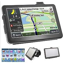 vinmax 17,8 cm Écran tactile HD de voiture 4 Go GPS Navigation GPS Navigator