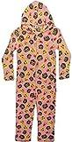 Phonicons - Pijama de una pieza - para niña rosa rosa 6-7 Años