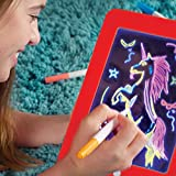 Magic Sketch Pad - Portable Hi-Tech Drawing Board for Kids Toy | Light Up LED Board | Draw, Sketch, Create, Doodle, Art, Write, Learning Tablet