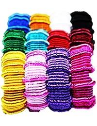 Shyam Hosiery Multicolour-Sonpari Hair Rubber Band_Pack Of 2 (24 Pcs)