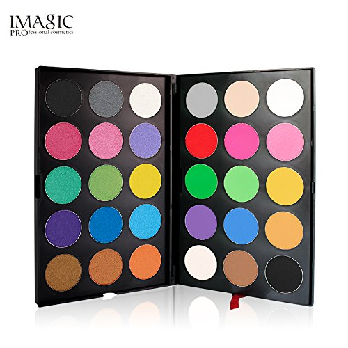 30 Farben Lidschatten Nudetöne Makeup Paletten Mischen Matt und Schimmer - Sleek Pulver Augenschatten Make Up Kosmetik Eyeshadow Palette (Sleek Kosmetik-highlight)