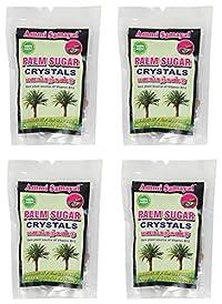 Ammi Samayal Palm Sugar Crystals Panangkarkandu, 100 Grams (Pack of 4)