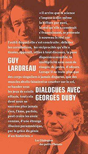 Dialogues avec Georges Duby par Guy Lardreau