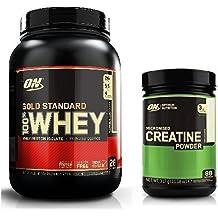 Optimum Nutrition Gold Standard Whey 908g Milk Chocolate & Creatine 317g