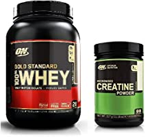 Optimum Nutrition Gold Standard Whey 908g Milk Chocolate & Creatine 317g